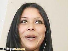 Hot bi vidz latin papi  super fucks a hot latina with his big uncut cock and