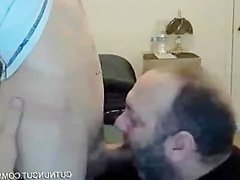Bear sucking vidz a twink  super and swallow