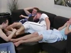 Toe Tickle vidz Threesome HD  super www.LadsFeet.com