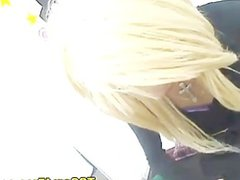Blonde Japanese vidz Shemale