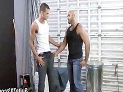 Hairy boss vidz gives smooth  super jock a bonus