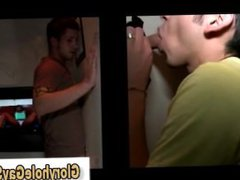Young straight vidz guy duped  super at gloryhole