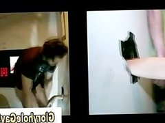 Straight guy vidz tricked at  super gloryhole