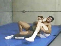 White underwear vidz wrestling leads  super to whipped cream