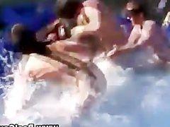 Real gay vidz students swimming  super pool