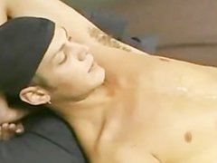 Hot str8 vidz skater boy  super jerks off and shoots a load