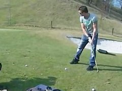 bareback sex vidz on the  super golf course