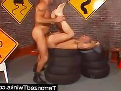 Anal fucking vidz bareback Twinks  super in action