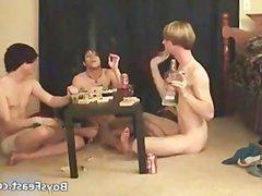 Super hot vidz gay teens  super having a game party part2