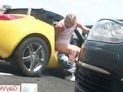 Blond dude vidz gets ass  super fucked in car part6