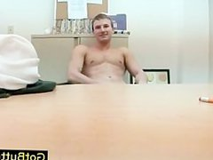 Hunky gay vidz stud playing  super with dildo porn part4