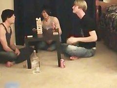 Super hot vidz gay teens  super having a game party part1