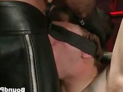 Noah blindfolded vidz and tortured  super gay BDSM part4