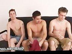 3 hot vidz guys in  super steamy gay threesome part6