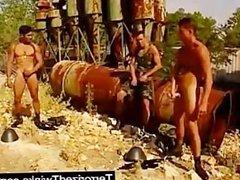 Army twinks vidz having brutal  super gay sex