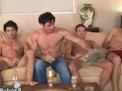 Super hot vidz studs in  super gay foursome porn part3