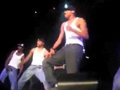 Chris Brown vidz Poppin His  super Dick