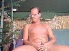 German Man vidz Jerk Garden  super Outdoor german ggg spritzen goo girls