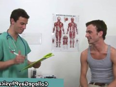Aaron gets vidz his nice  super cock examined part2