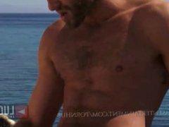 Muscle Men vidz Swim and  super Fuck Eachother in he Ocean