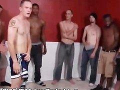 Casey James vidz Drinks Cum  super in Bareback Group Sex