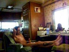 Spied on vidz Dad camming