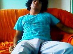 MAN SLEEPING vidz IN ANACONDA