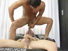 Latino stud vidz Jason Mello  super submits his ass to a hard cock