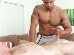 Blowjob with vidz interracial gay  super couple