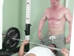 Spanking muscle vidz hunk video