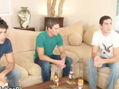 Super hot vidz studs in  super gay foursome part1