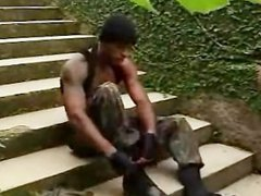 Brazilians soldiers vidz training
