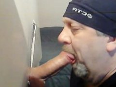 THICK UNCUT vidz COCK IN  super MY GLORYHOLE