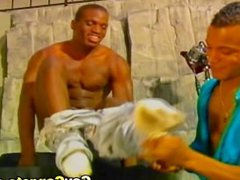 Black Gay vidz Drilling Dildo  super Pictorial