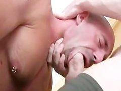 Hot hung vidz hunk face  super fucks then aggressivley breeds a smooth hunk