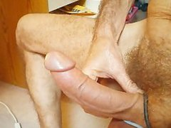 playing with vidz my veiny  super cock