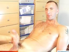 Cute French vidz sport guy  super getting wanked by a gay guy !