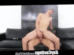 GayCastings professional vidz street dick  super sucker turns amateur porn star in live