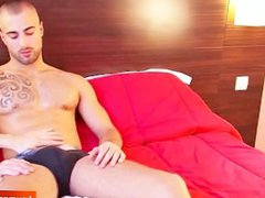 Sport guy vidz get wanked  super ! Will-hem his 1srt video!