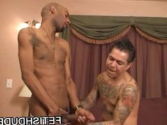 Fetish Latino vidz In JockStrap  super Face Sitting On Black Dude Cuba Santos
