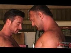 Hairy Muscle vidz Fuck in  super the Garage