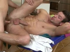 Massage His vidz Colon With  super Big Hard Dick