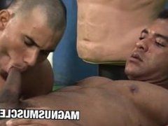 BodyBuilder Douglas vidz Masters Gets  super A Pounding On His Gym Buddy