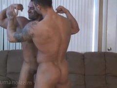 Muscle Worship vidz (Mike Buffalari  super and Sam Rizzo)