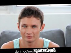 GayCastings Cute vidz baby blue  super eyes crys with a cock in his mouth