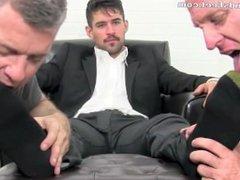 Slaves worship vidz Fiero's sweaty  super feet and socks pt. 2