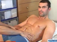 Nicolas, straight vidz guy get  super wanked by a gay guy !