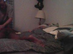 I give vidz massage to  super str8 guy