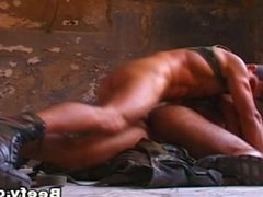 White Beefy vidz Muscle Daddy  super Fucked Raw