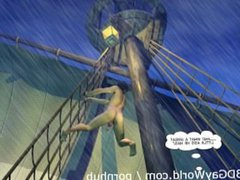 ADVENTURES OF vidz CABIN BOY  super 3D Gay World Cartoon Comics or Gay Hentai Anime